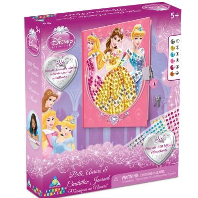 Orb Factory journal à personnaliser sticky mosaics : princesses disney