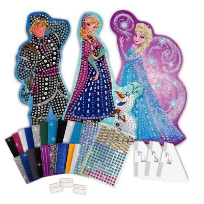 Orb Factory Mosaïque Sticky Mosaics : La Reine des Neiges (Frozen) : Maxi Kit