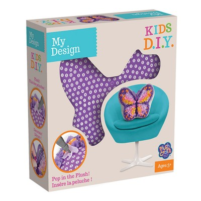 Orb Factory Création Plush Craft : Pillows by design : Papillon