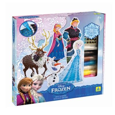 Orb Factory kit créatif bulles et joyaux la reine des neiges (frozen)