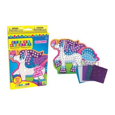 Orb Factory mosaïque aux numéros : sticky mosaics : licorne