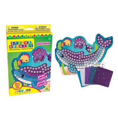 Orb Factory mosaïque aux numéros : sticky mosaics : dauphin