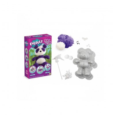 Orb Factory création de peluche fuzzeez : panda