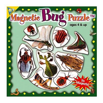 Orb Factory puzzle 9 pièces : mini puzzle magnétique insectes