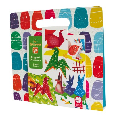 Au Sycomore Pochette créative : Origami Animaux