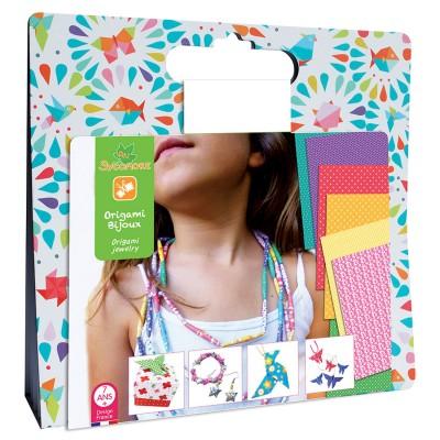Au Sycomore pochette créative : origami bijoux