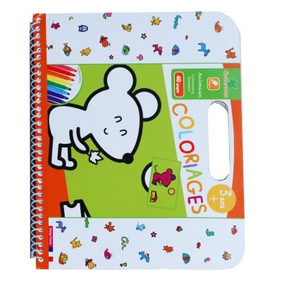 Au Sycomore cahier de coloriages : animaux