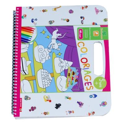 Au Sycomore cahier de coloriages : gourmandises