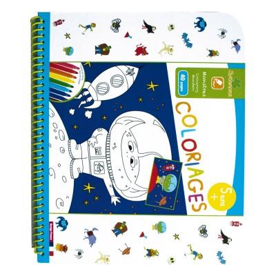 Au Sycomore cahier de coloriages : monstres