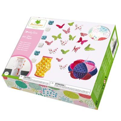 Au Sycomore coffret lovely box : déco papier