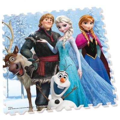 Diset Dalle en mousse : Tapis La Reine des neiges (Frozen)