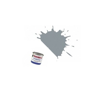 Humbrol 064 - gris clair mat : enamel