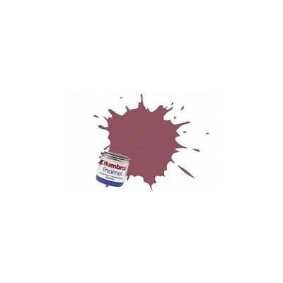 Humbrol 073 - lie de vin mat : enamel