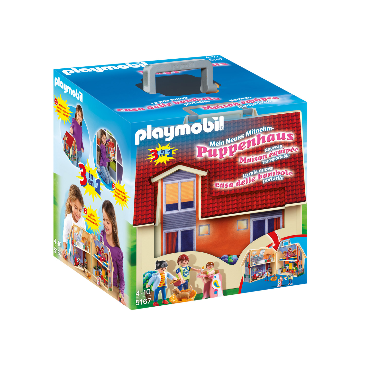 playmobil 5167 maison transportable ebay. Black Bedroom Furniture Sets. Home Design Ideas