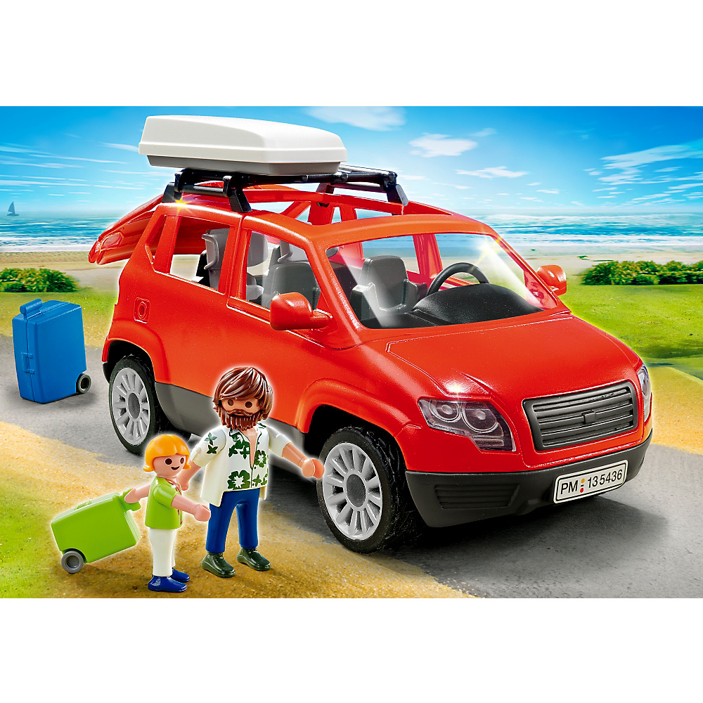 playmobil 5436 voiture avec coffre de toit en soldes ebay. Black Bedroom Furniture Sets. Home Design Ideas