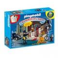 Playmobil Playmobil 4168 : Calendrier de l'Avent : Policier et voleurs