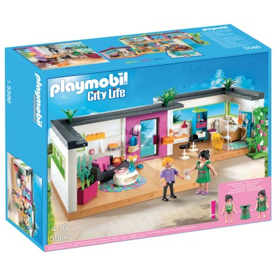 Playmobil 5586 studio des invit s playmobil magasin de for Maison moderne jouet
