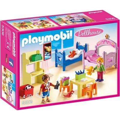 Playmobil Playmobil 5306 : Dollhouse : Chambre d'enfants avec lits superposés