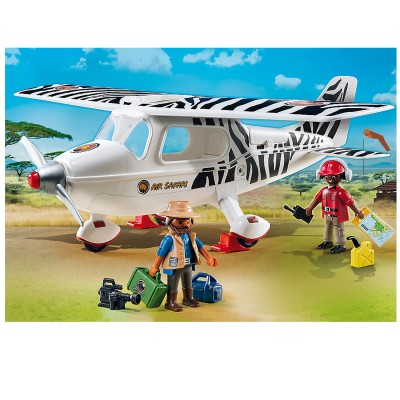 Playmobil Playmobil 6938 : Wild Life : Avion avec explorateurs