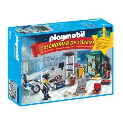 Playmobil Playmobil 9007 christmas : calendrier de l'avent policier et cambrioleur