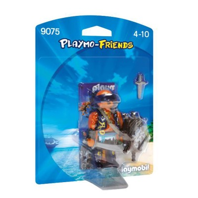 Playmobil Playmobil 9075 Playmo-Friends : Pirate avec bouclier