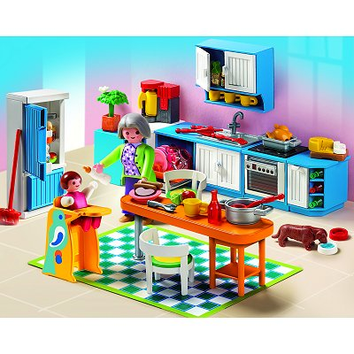 playmobil 5329 cuisine avenue des jeux. Black Bedroom Furniture Sets. Home Design Ideas