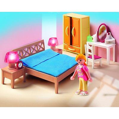 Playmobil 5331 Chambre Des Parents Avec Coiffeuse Moins