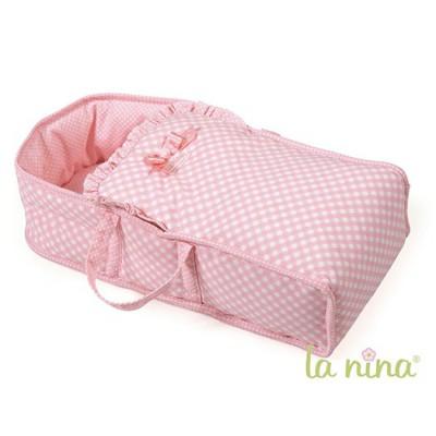 La Nina couffin pour poupée paula : grand