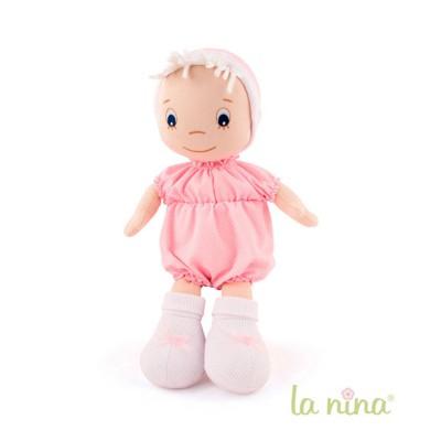 La Nina Poupée de chiffon : Bébé rose
