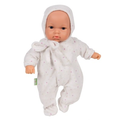La Nina poupon le petit dudu 30 cm : pyjama velours soft