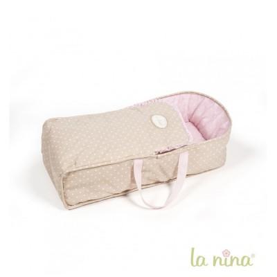 La Nina grand couffin pour poupée de 30 à 42 cm inès