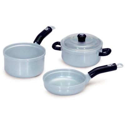Klein Batterie de cuisson : poêle et casseroles wmf