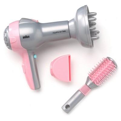 Klein Sèche-cheveux Braun avec diffuseur et brosse - Imitation