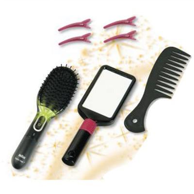 Klein Brosse à cheveux et miroir - Braun : Satin Hair