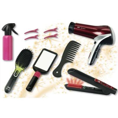 Klein Mega set de coiffure - Braun : Satin Hair