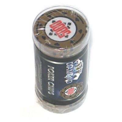 Cartamundi Gamme Poker Diamond : Rouleau de jetons Valeur 5000