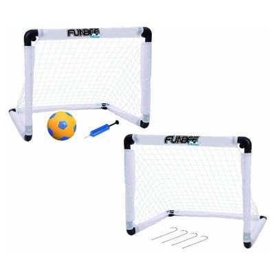 Darpèje Cages de football : double cage de foot funbee