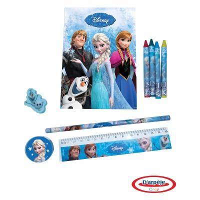 Darpèje Dessine et colorie avec la reine des neiges (frozen)