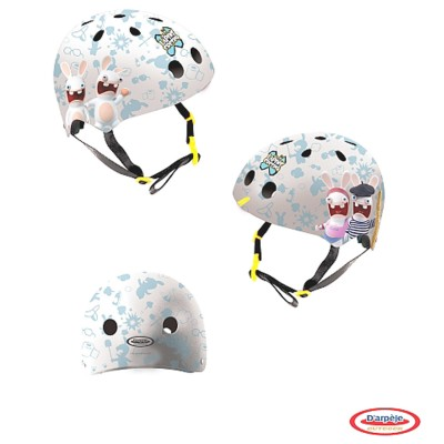 Darpèje Casque bol lapins crétins taille s