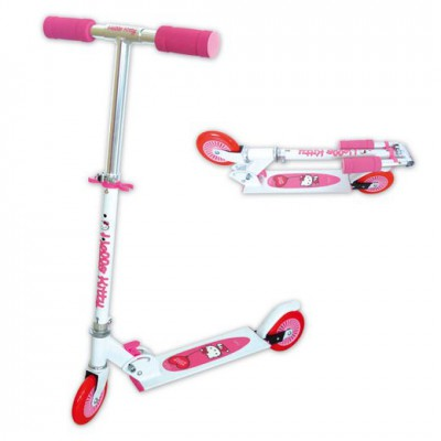 k trottinette hello kitty  roues