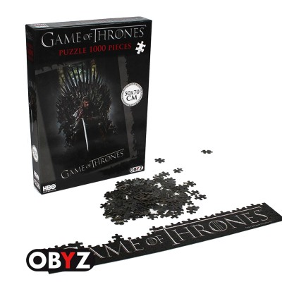 Abysse Corp puzzle 1000 pièces : games of thrones