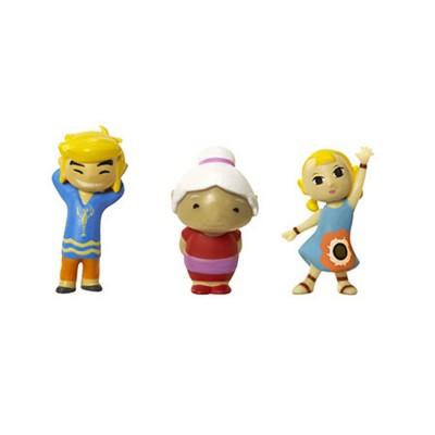 Abysse Corp micro figurines nintendo : link, mémé et arielle