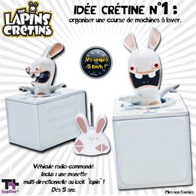 Abysse Corp machine à laver radiocommandée - lapins crétins