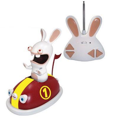 Abysse Corp auto-Tamponneuse radiocommandée lapins crétins : rouge
