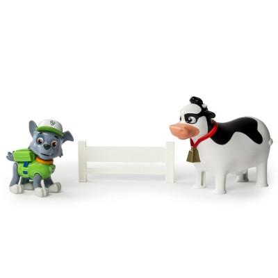 Spin Master Figurine Pat'Patrouille (Paw Patrol) : Rocky et Bettina