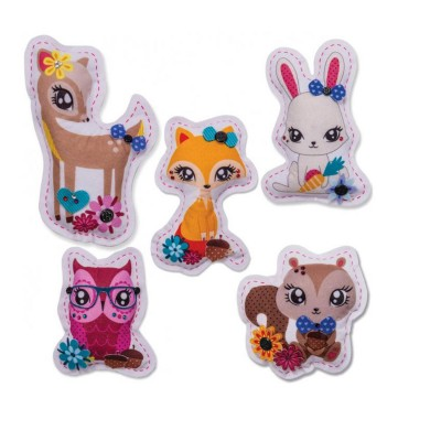 Spin Master Recharge pour peluches à coudre Sew Cool : Animaux