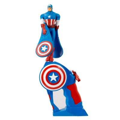 Bandaï Figurine avengers : flying heroes : captain america