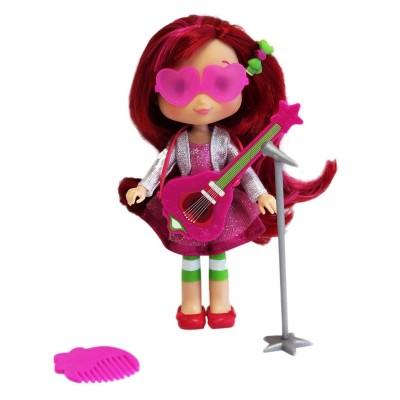 Bandaï Poupée charlotte aux fraises : fraisi-Star : charlotte aux fraise et sa guitare