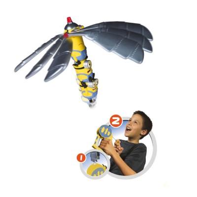 Bandaï Figurine flying heroes à lancer : minions