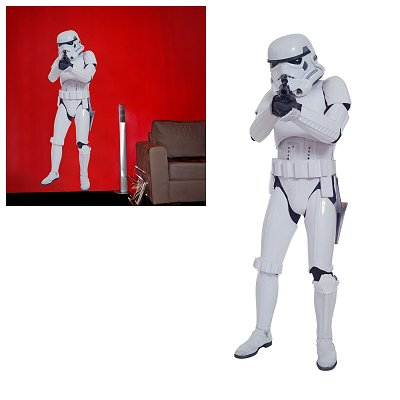 Aby Style stickers muraux star wars : storm trooper